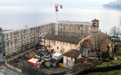 Il cantiere ex-Palace