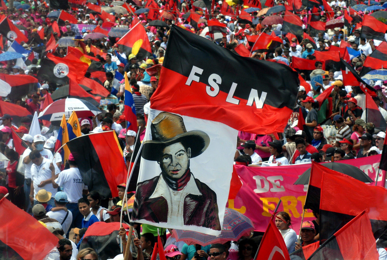 Manifestazioni del fronte sandinista