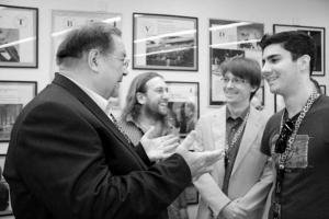 Borodachev con i comunisti ticinesi