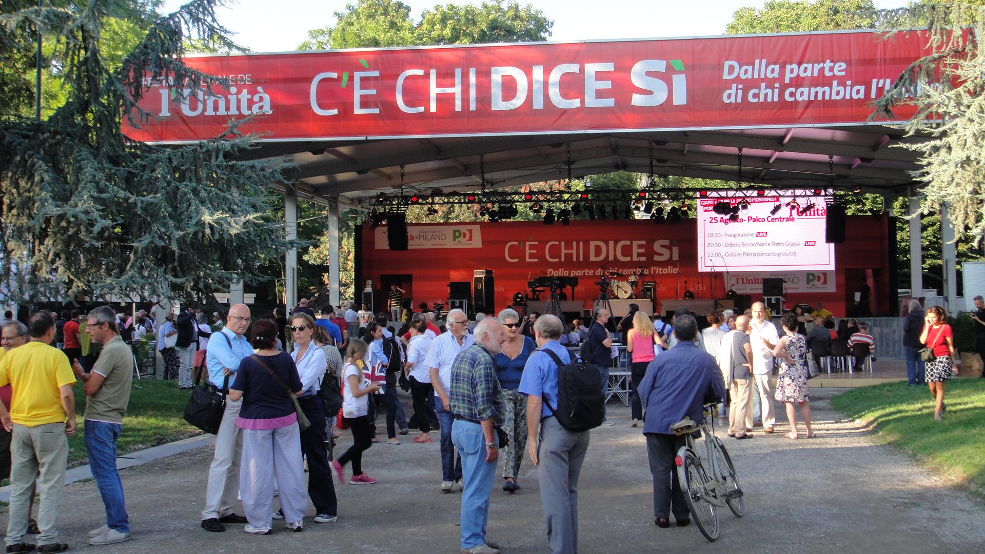 Festa dell'Unità, Milano 2015