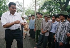 Visita ad Hanoi (Vietnam) nel 1994