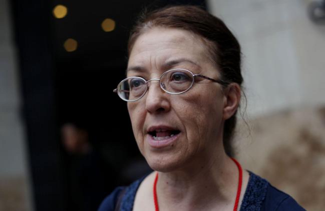 Gloria La Riva, candidata alle presidenziali 2016 per il PSL.