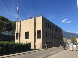 Via Morettina 2: l'attuale sede dell'associazione la rada.