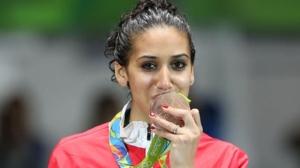 Ines Boubakri, medaglia di bronzo per la Tunisia