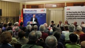 L'intervento del deputato nazionale del PCP Paulo Sá