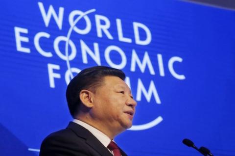 XI JIN PING DAVOS