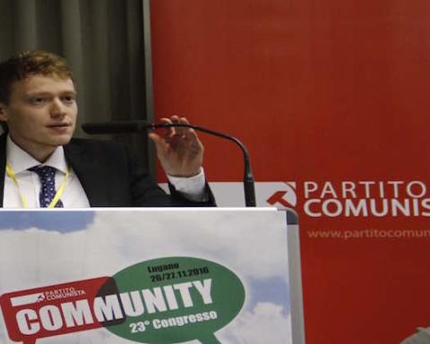 Alessandro Lucchini, vice-segretario del PC