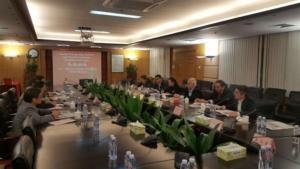 Riunione di lavoro fra le due delegazioni