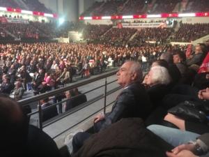 Circa 20mila cittadini hanno assistito all'evento di apertura del Congresso