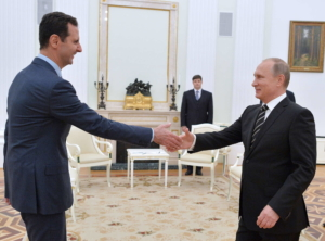 I presidenti siriano e russo si incontrano a Mosca