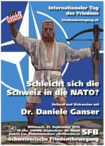 Ganser è stato ospite del Movimento Svizzero per la Pace