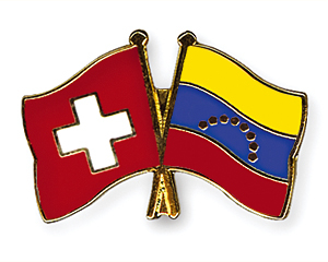 Freundschaftspins-Schweiz-Venezuela