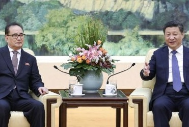 Nel 2016 con Xi Jinping