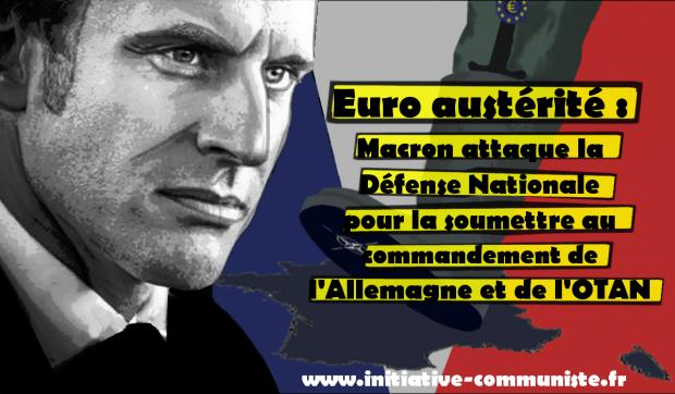 I comunisti francesi contro la politica militare di Macron