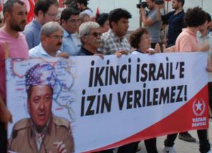 """Manifestazione in Turchia: """"Non autorizzeremo un secondo Israele!"""""""