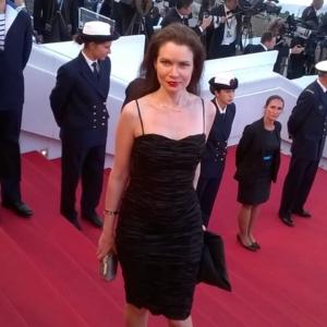 Elena Gladkova a Cannes.