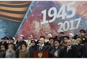 Putin commemora la vittoria sovietica contro il nazismo